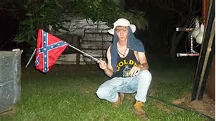 Dylan Roof and Flag
