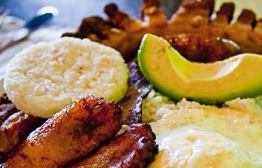 Colombia food